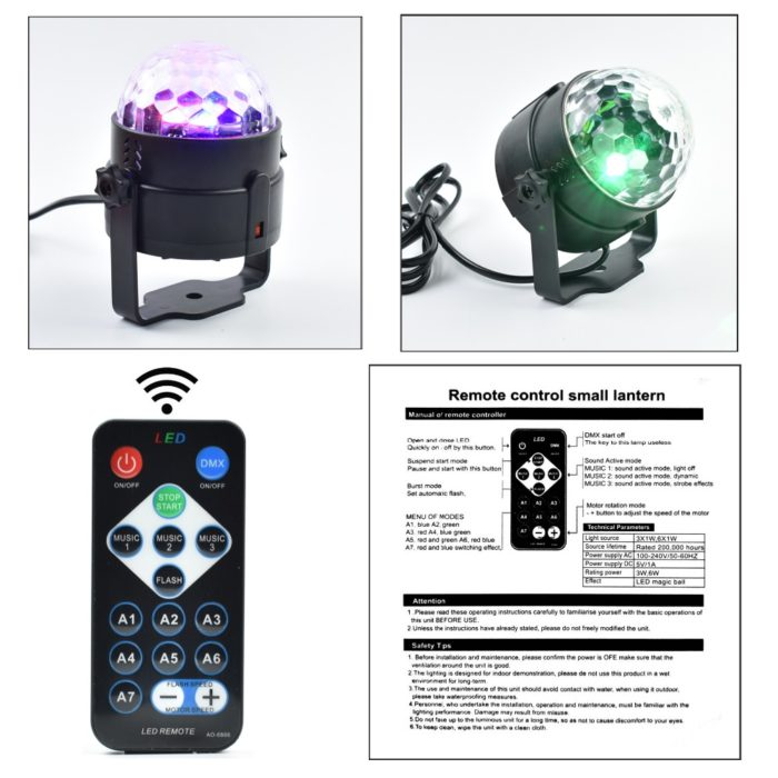 Outdoor LED Mini Disco Party Ball Lights