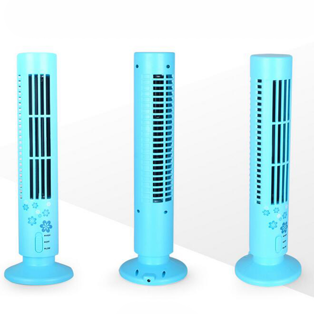 Mini Bladeless Cool Desk Quiet Tower Fan Life Changing