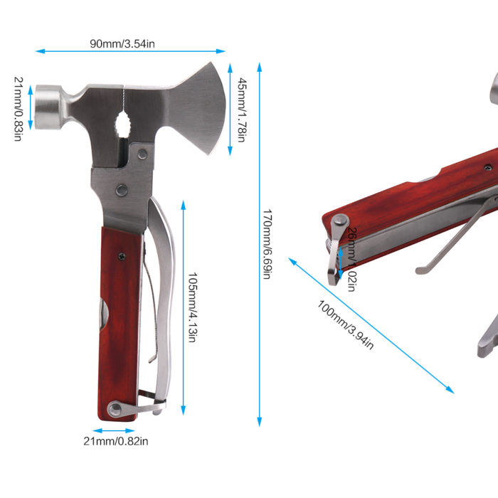 Portable Pocket 12 in 1 Multi-Function Tool