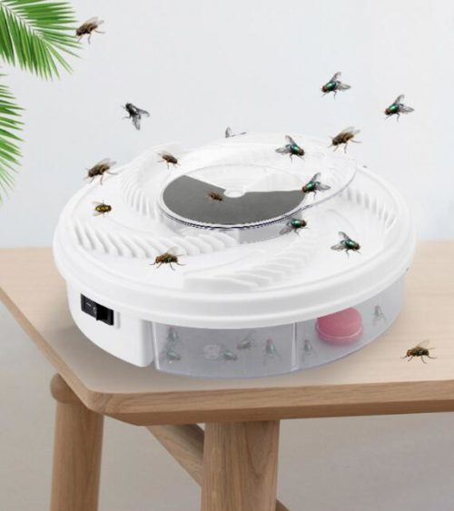 Portable Electric Fly Catcher Trap Device