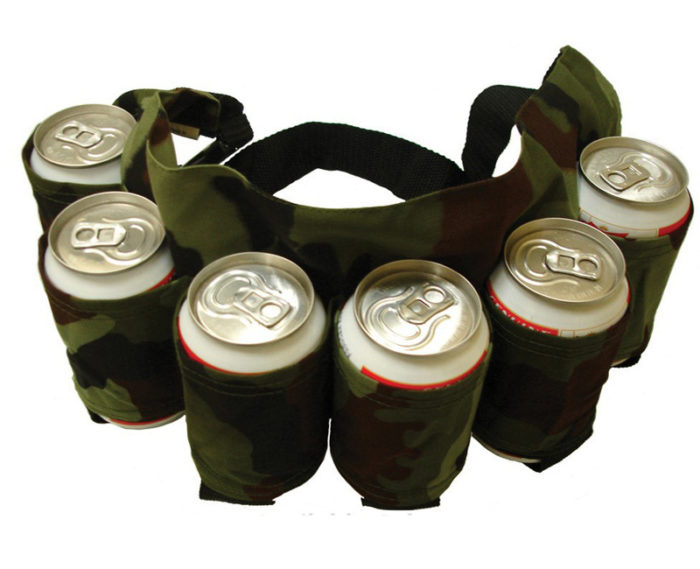 Beer Belt Camo Beer Holster 6can