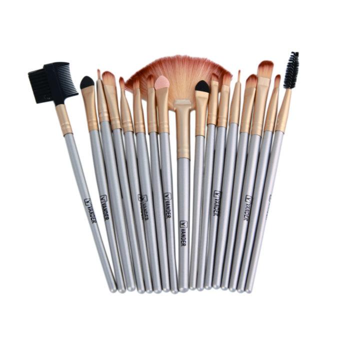 Makeup Brush Kit with Makeup Brush Holder (Set of 32)