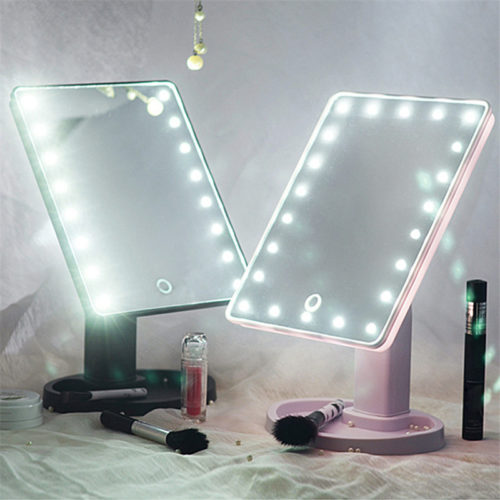 Illuminated Vanity Make Up Mirror With LED Lights