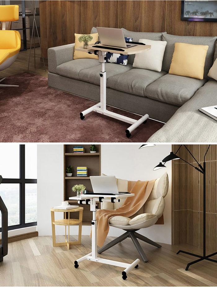 Bed Table Adjustable Computer Desk