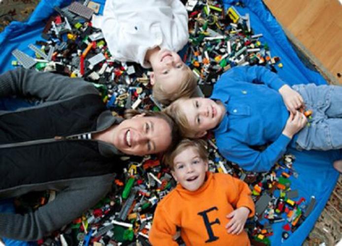 Kids Toy Storage Toy Organizer Bean Bag