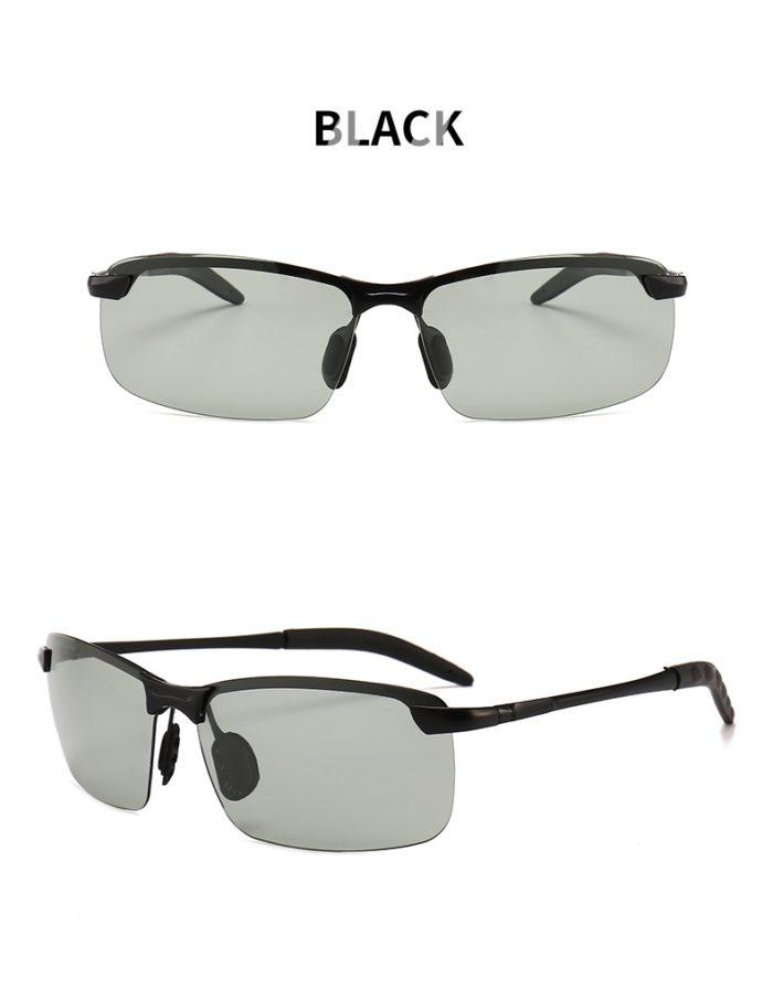 Photochromic Transition Men's Sun Glasses