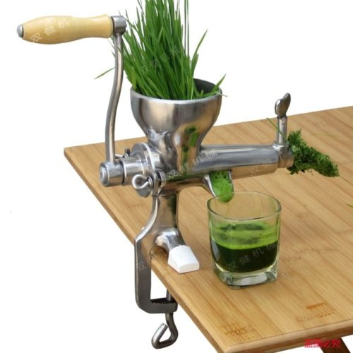 Stainless Steel Manual Vegetable Wheat Grass Juicer