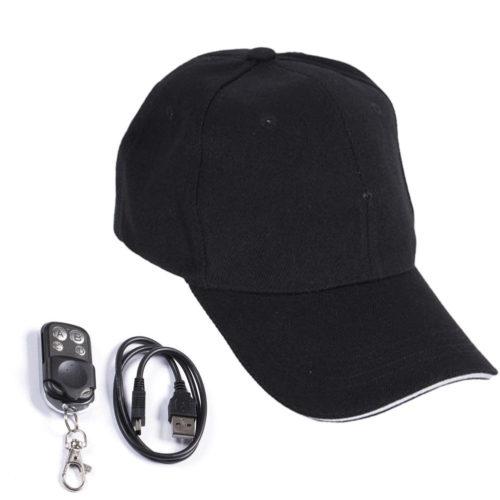 Hidden Mini Video Recorder Surveillance Camera Cap
