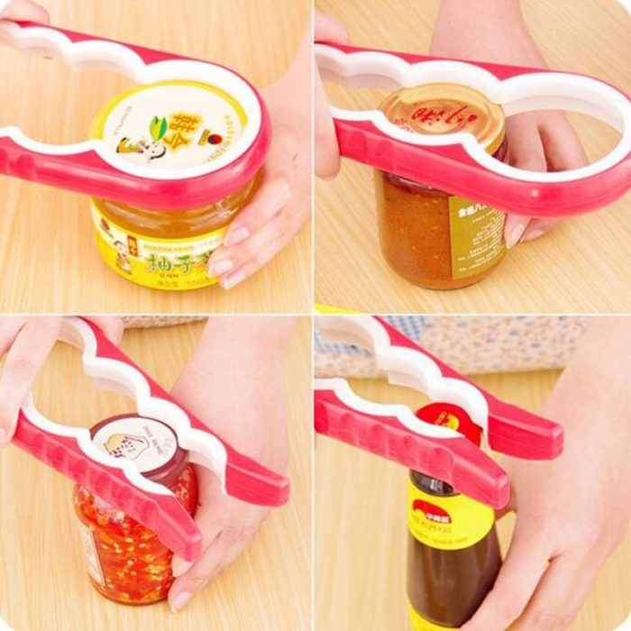 4-In-1 Jar Cap Opener