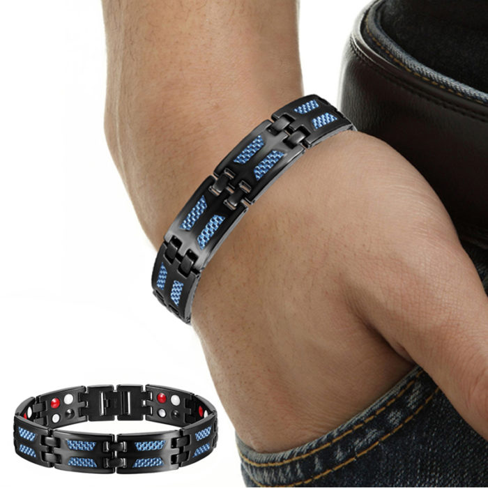 Titanium Magnetic Therapy Wristband
