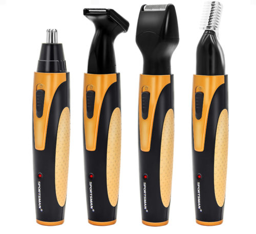 4-in-1 Nose Hair Trimmer for Men