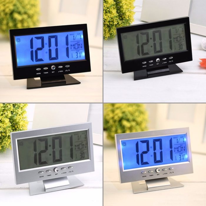 Modern LED Desktop Digital Clock