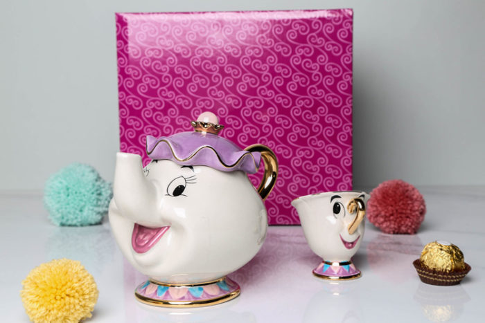 Teapot Set Beauty and the Beast