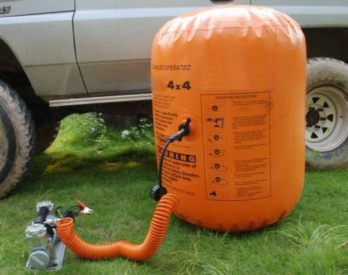 Air Jack Inflatable Bag Car Lifter