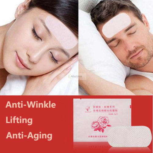 Anti-Wrinkle Forehead Frownies Facial Patches (set of 5)