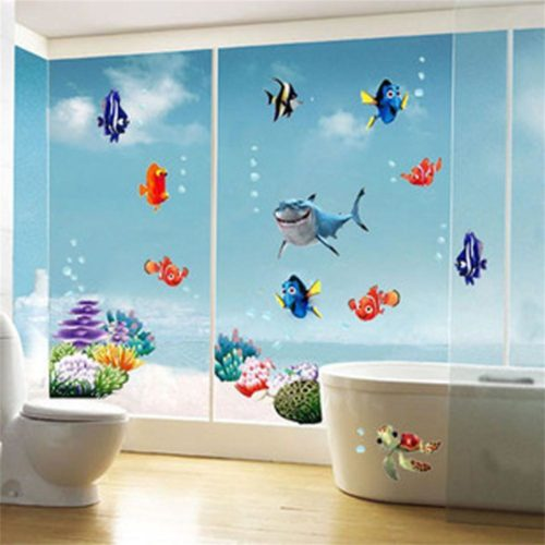Wall Vinyl Stickers Under the Sea