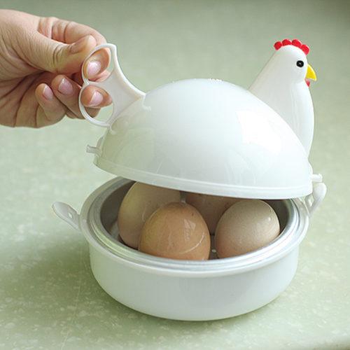 Egg Boiler Chicken-Shaped Egg Cooker