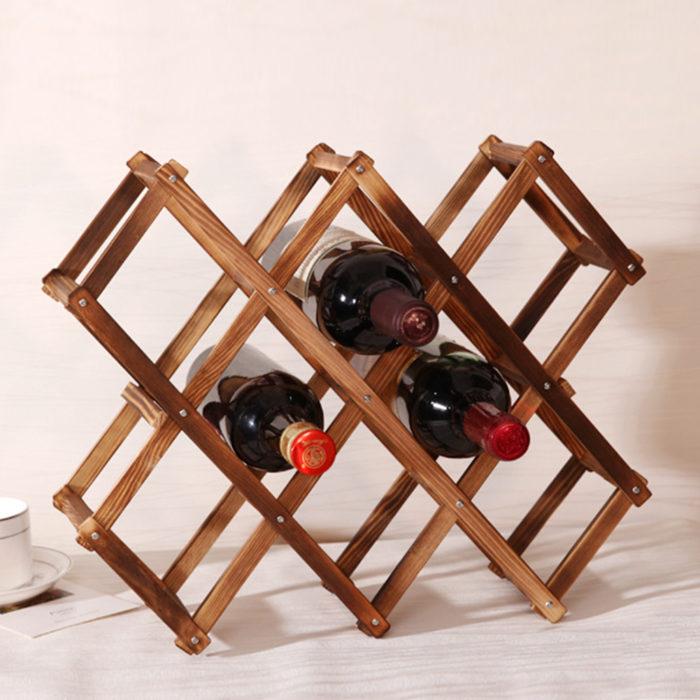 Wooden Wine Racks Wine Shelf