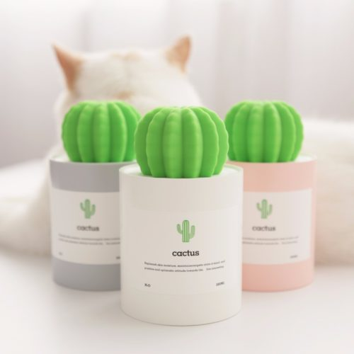 Small Humidifier Cactus Design Mist Maker