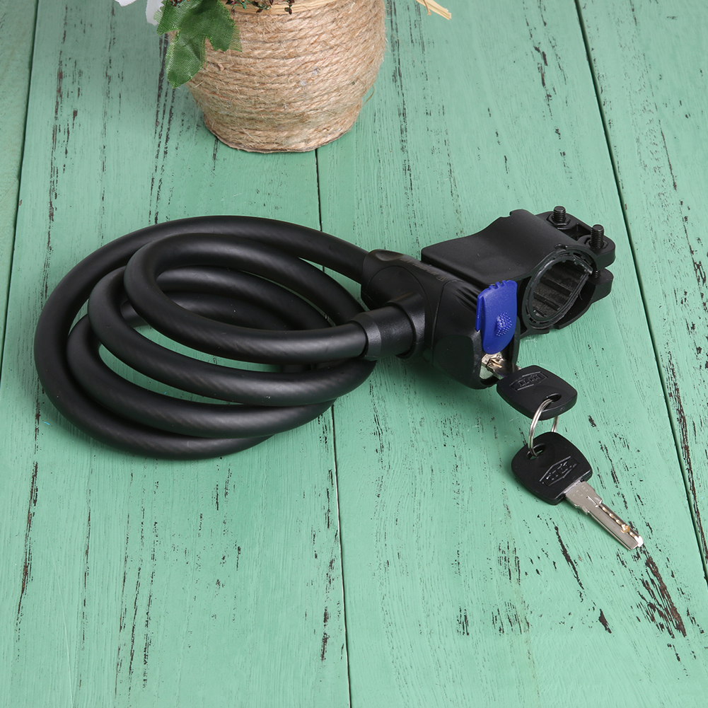 Bicycle Lock Cable Steel Wire Anti-Theft Bike Lock - Life Changing ...