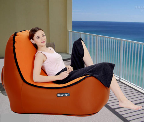 Inflatable Sofa Air Lounger Couch