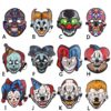 LED Mask Sound Reactive Clown Halloween Costume