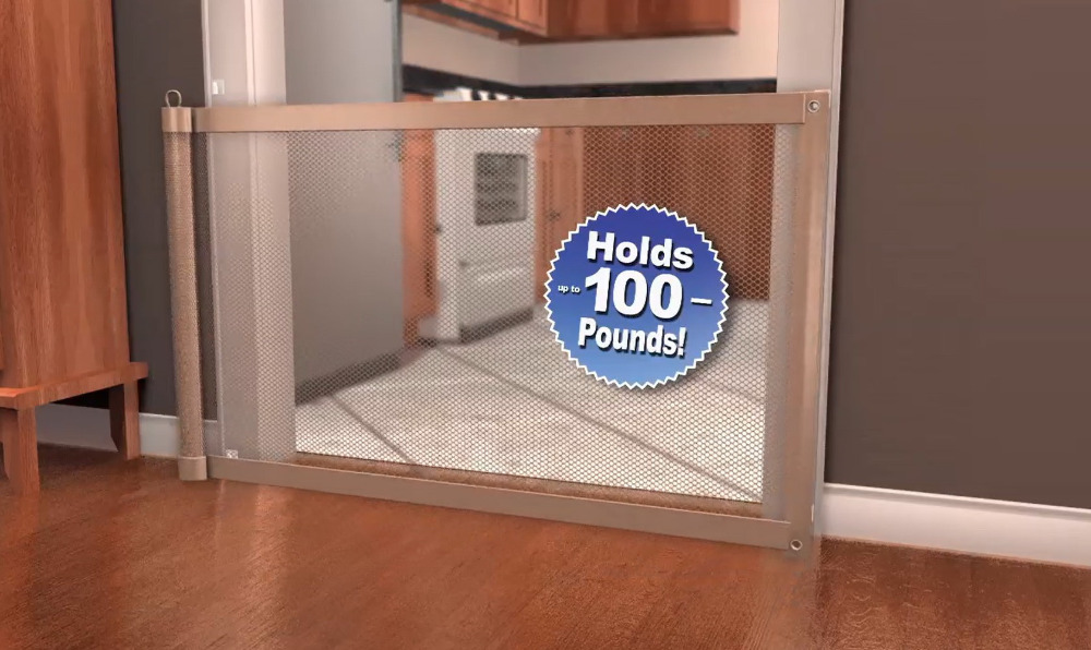 Safety Gate Pet Dog Mesh Barrier Life Changing Products