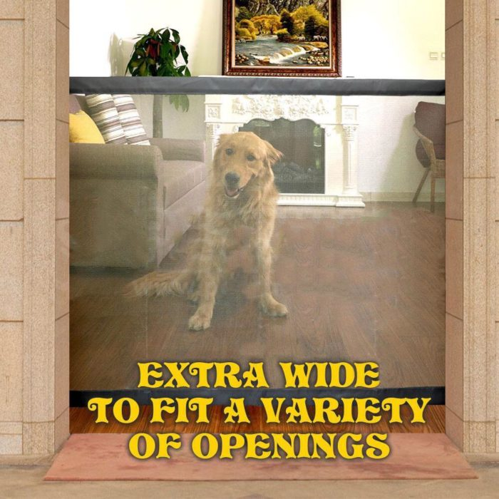 Safety Gate Pet Mesh Barrier