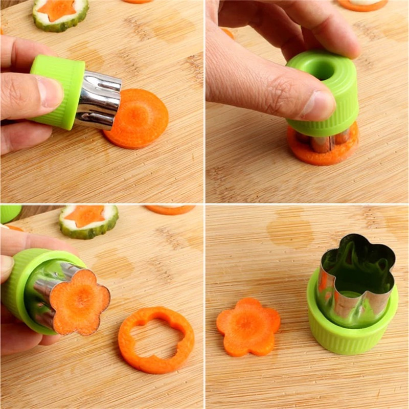 Cookie Cutters Stainless Steel Fruit Vegetable Shape