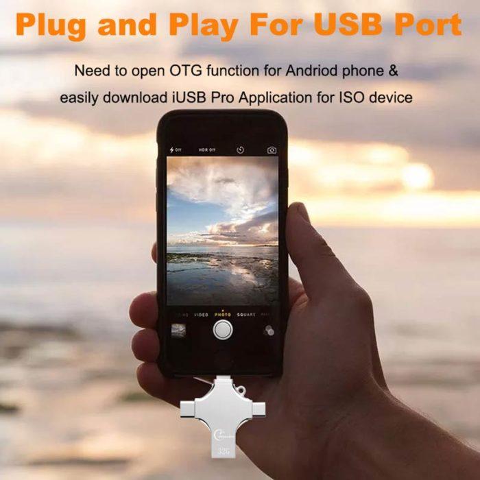 USB Flash Drive Metal OTG Pen Drive