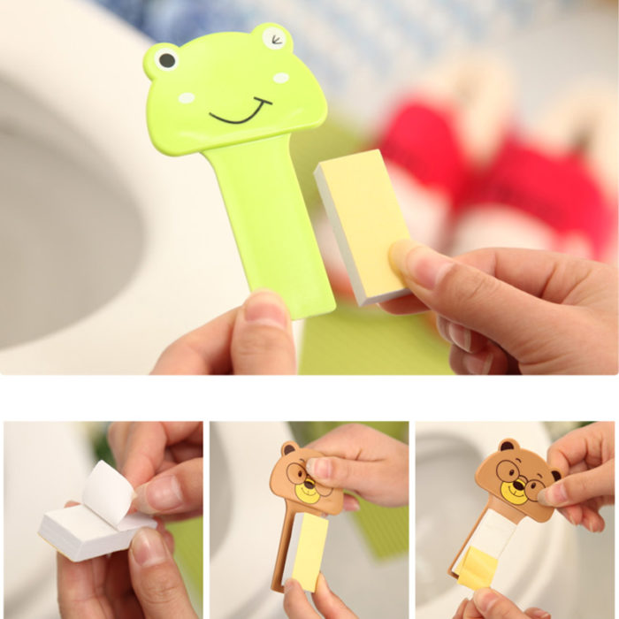 Toilet Seat Covers Lifter Plastic Handle