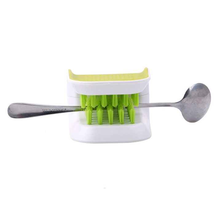 Cleaning Brush for Cutlery Knife and Kitchen Tools