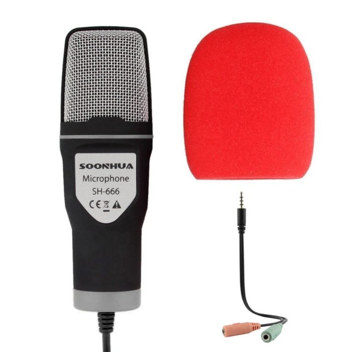 Computer Microphone USB Mic with Tripod