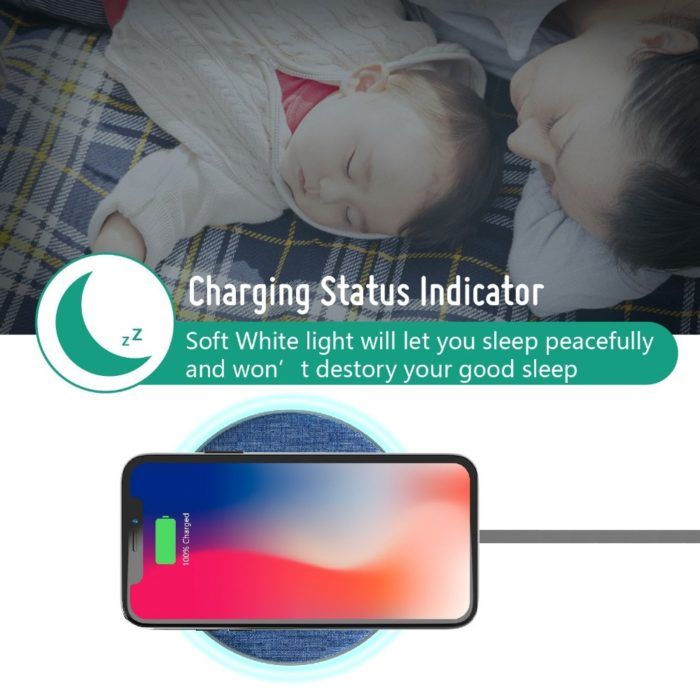 Wireless Phone Charger Portable Charging Pad