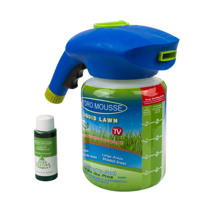Hydro Mousse Liquid Lawn Seed Sprayer Gun