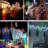 10m LED String Lights Solar Powered Outdoor Hanging Lights
