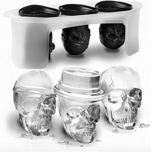 Silicone Ice Molds 3D Giant Skulls
