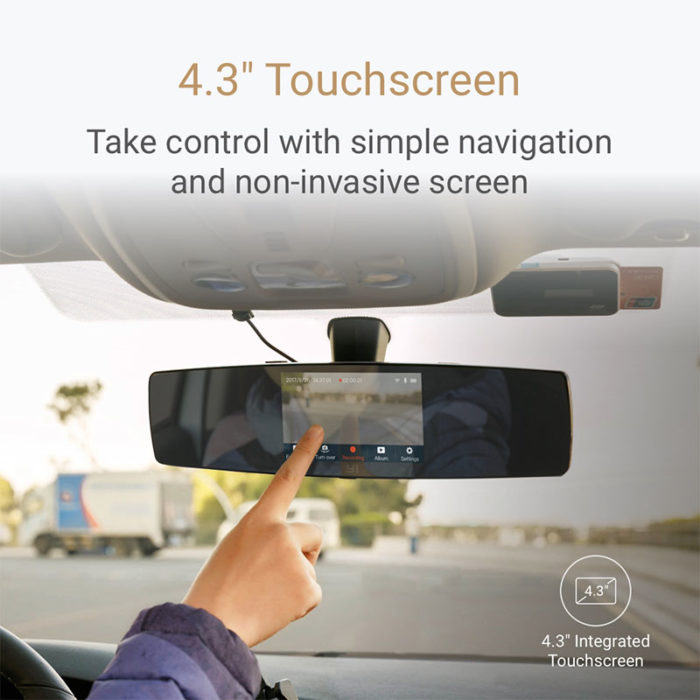 Rear View Mirror Camera Dashcam