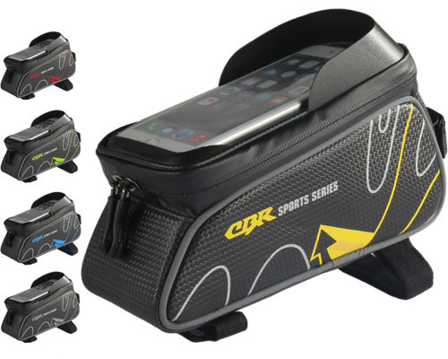 Waterproof Bike Bag Top Tube with Phone Holder