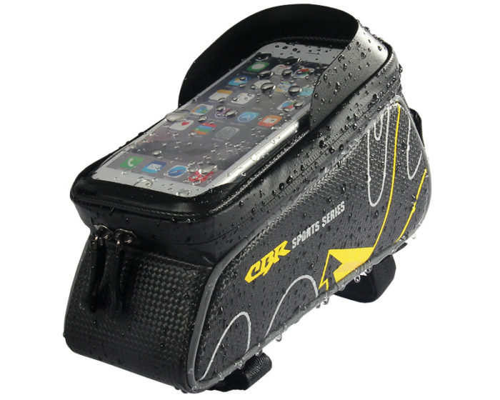 412817fbf033 Waterproof Bike Bag Top Tube with Phone Holder