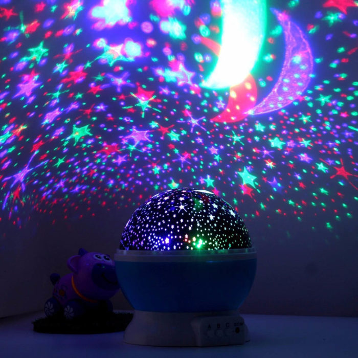 Kids Night Light Star Projector