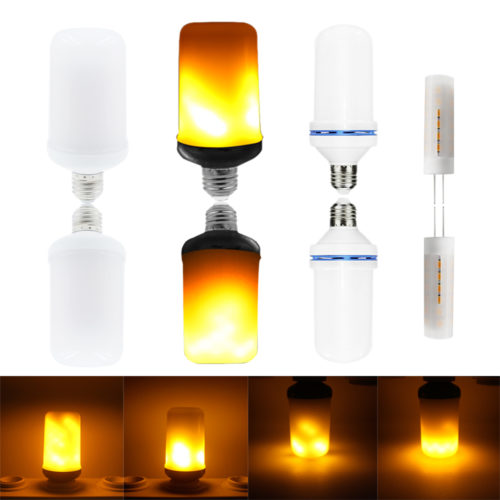 Creative LED Flame Bulb Lights