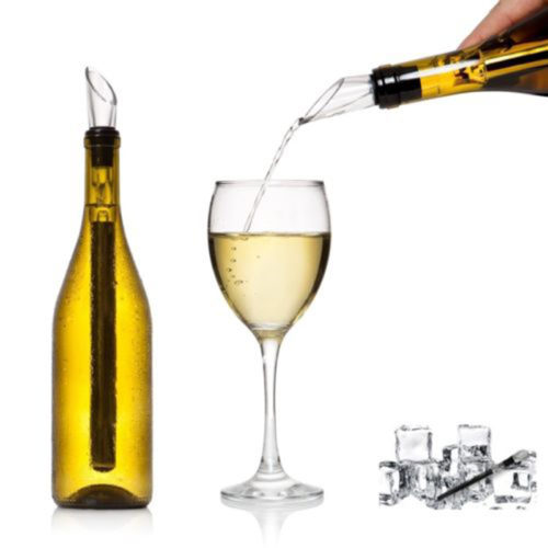 Stainless Steel Wine Chiller Stick With Pourer