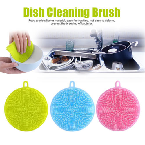 Eco-Friendly Silicone Dish Washing Sponge