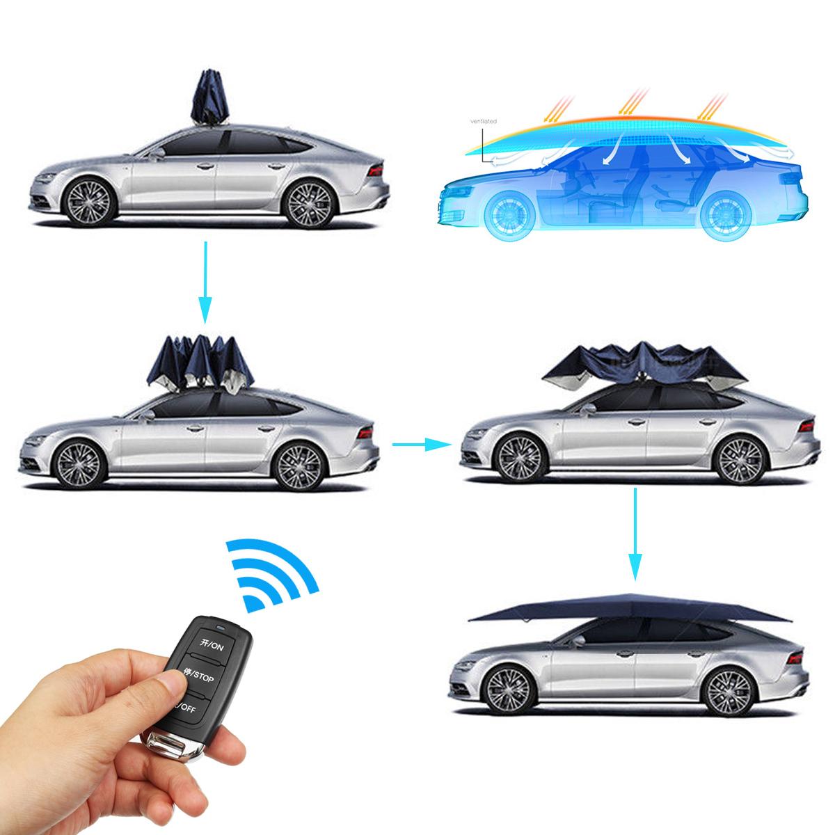 Portable Full Automatic Car Umbrella