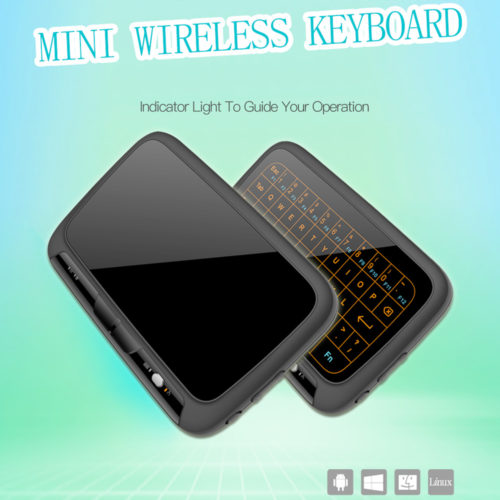 Wireless Mini Keyboard With Touchpad