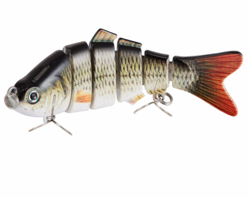 Segmented Lifelike Fishing Lure