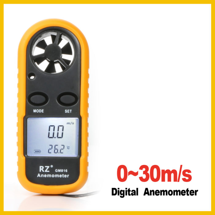 Portable Digital Anemometer