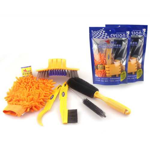 6-Piece Portable Bike Cleaning Kit