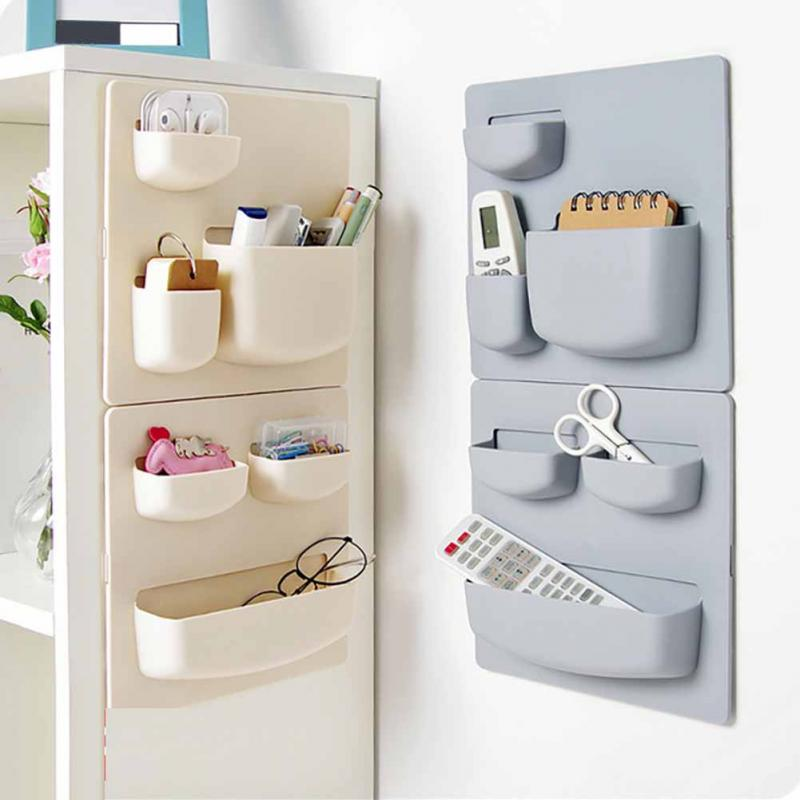 Stick Type Wall Storage Rack Life Changing Products